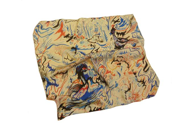 pañuelo 60 x 60 cmC , patos