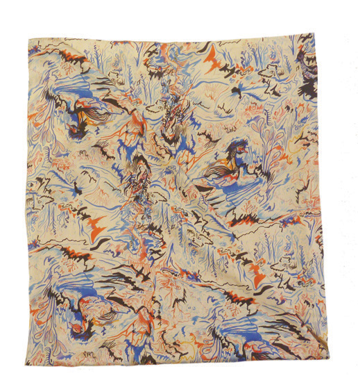 pañuelo 90 x90 cm , patosC